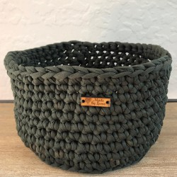 Army Green Basket (Small)