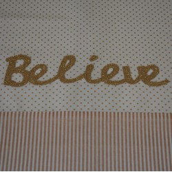 Rose Gold Believe runner