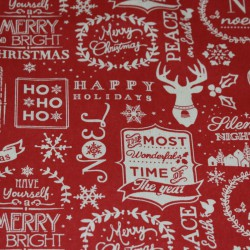 Christmas wording runner