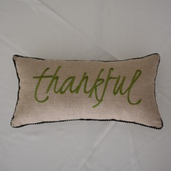 Thankful scatter pillow